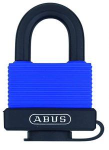 ABUS 70/45 All Weather Solid Brass Blue Padlock